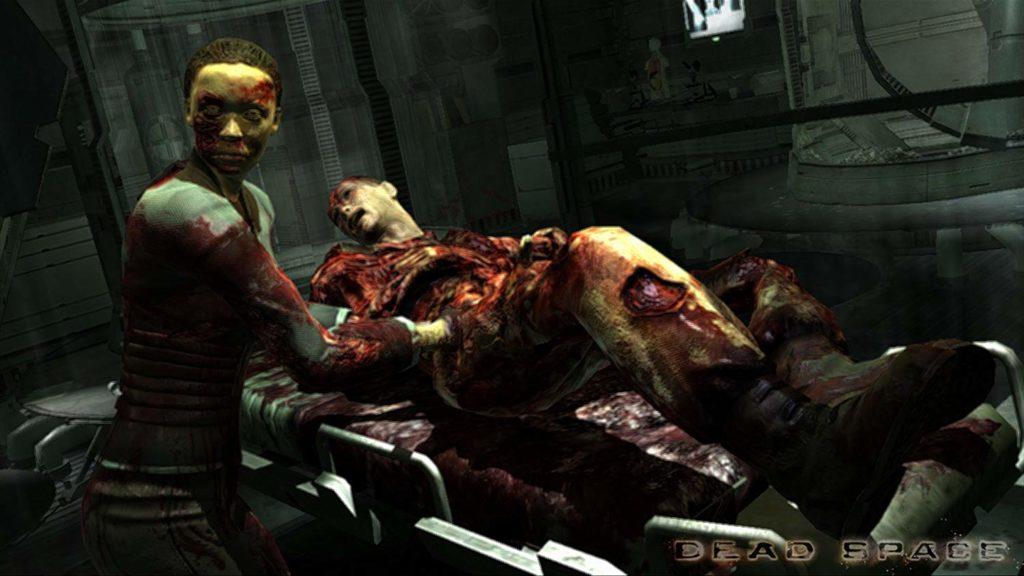 『Dead Space』(デッドスペース)シリーズは、残酷な人体破壊描写が多いSFホラー映画のような世界観。