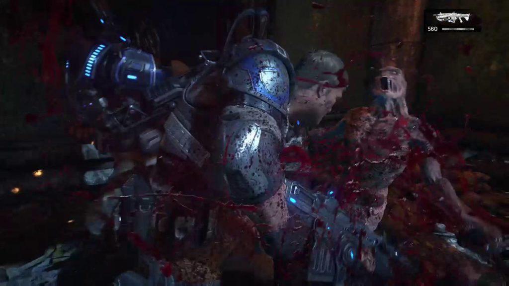 「Gears of War」は人類とローカスト軍の大戦を描くTPSシリーズ。