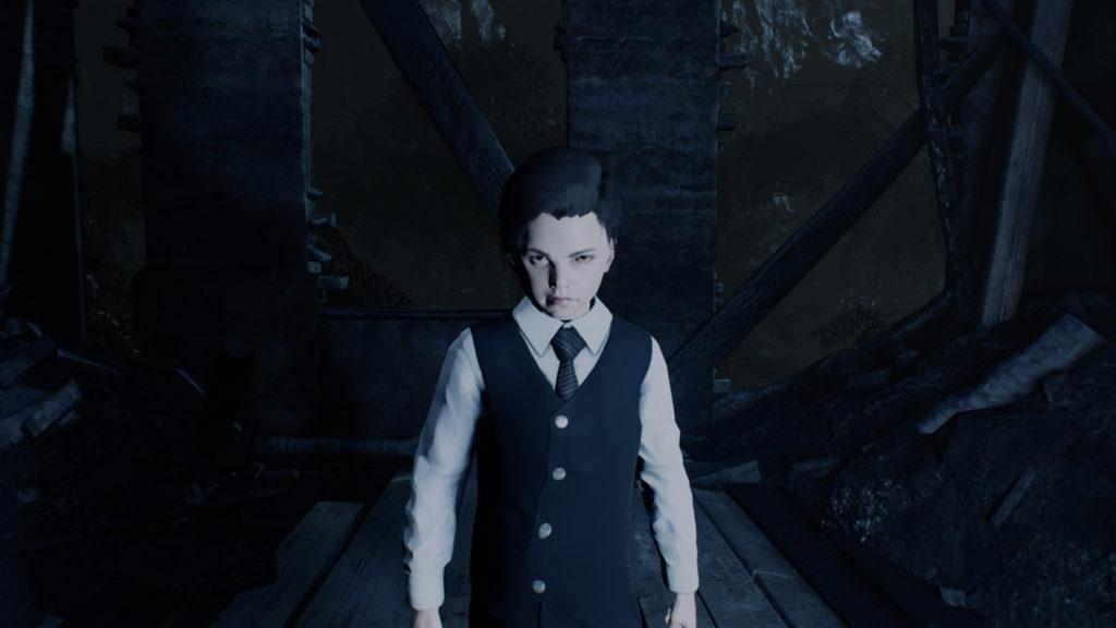 『Lucius』シリーズは、映画『オーメン』に影響を受けたアドベンチャーゲーム。悪魔の力を得た子供が大人たちを事故死に見せかけて殺していく。
