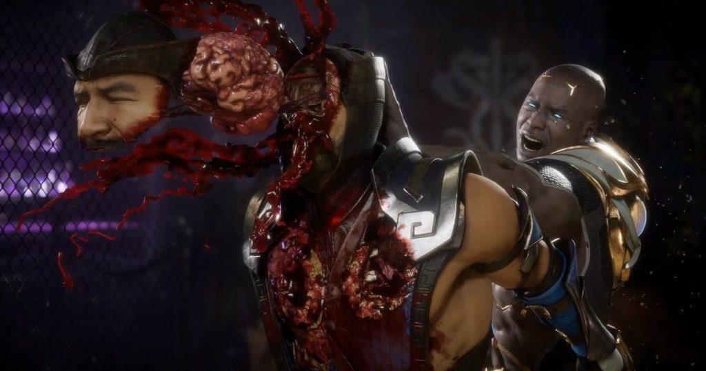 残虐格闘ゲームのド定番「モータルコンバット11(Mortal Kombat 11)」(日本未発売)に登場するGeras (ゲラス)の残虐なフェイタリティ。