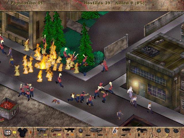 伝説の残虐ゲーム「ポスタル」の行進しているマーチングバンドを虐殺する有名な(悪名高い)シーン