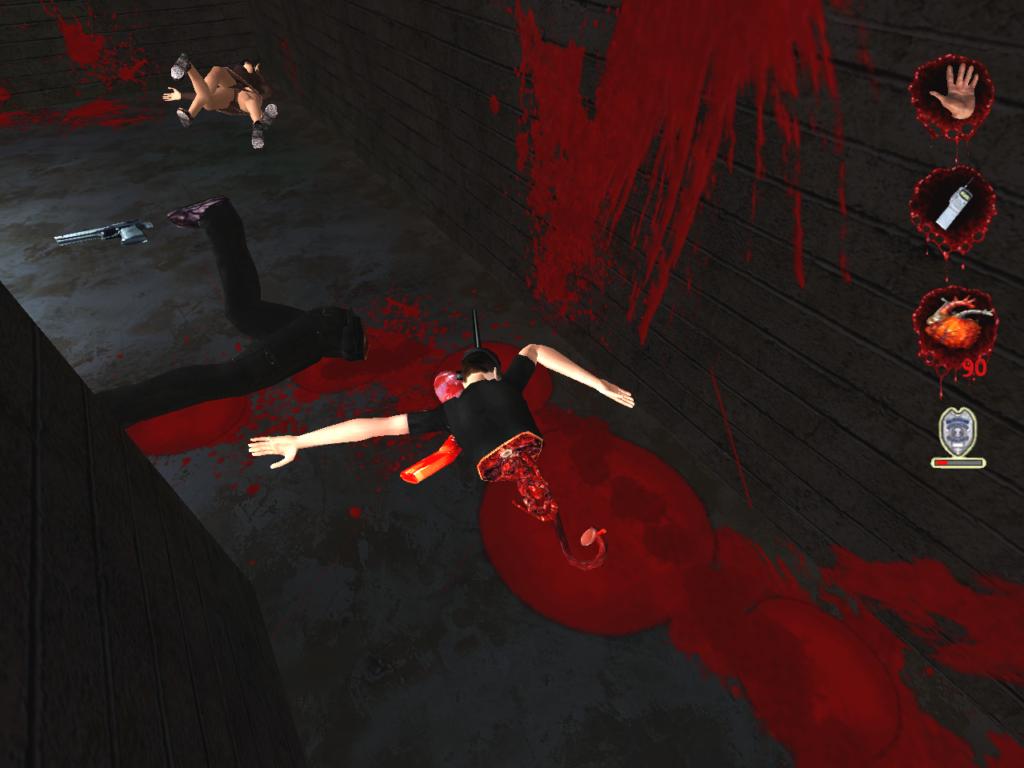 残酷ゲームとして悪名高い「ポスタルシリーズ」は、流血・殺人等の描写が過激。グロテスクで凶悪な描写を特徴とする。