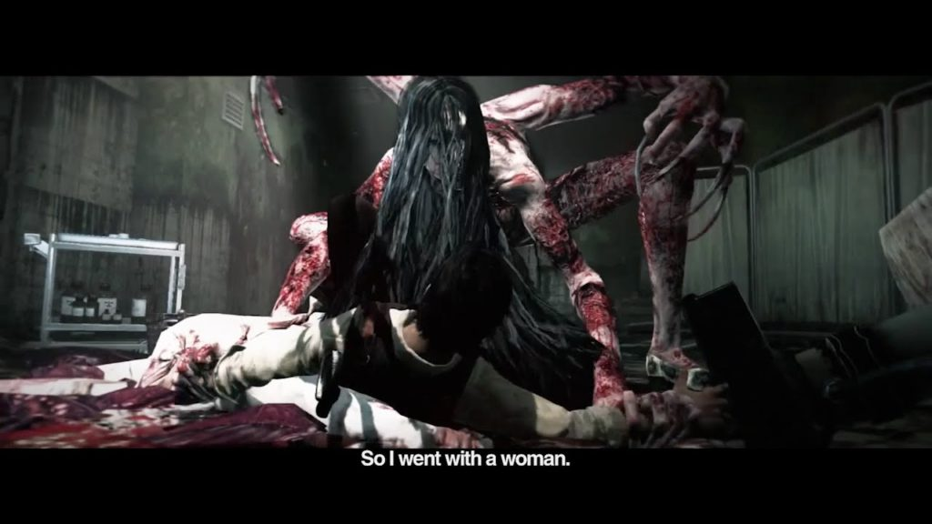 ラウラ(RE-Bone_Laura)は、非常に長い4本の腕と足を持ち女性を思わせる長い黒髪、焼けただれた皮膚が特徴。血だまりや死体から叫び声をあげて現れ、髪を振り乱しながら襲ってくる。その正体は、ルヴィクの姉ラウラの凄惨な死の記憶とルヴィク自身の復讐心が融合し誕生したクリーチャー。