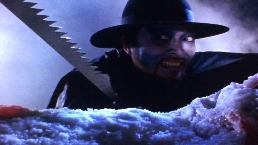 ブラック指令は、ブニョによって捕えられたレオを氷漬けにした上で、ノコギリでバラバラにしてしまう。