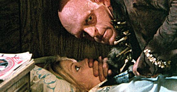 サランドラ (1977年のホラー映画)は、かつて核実験場だった土地にやって来た旅行者達が、奇形の殺人鬼達(ソニー・ビーンとその一家をモデルにしている)に襲われる様を描いたホラー映画。