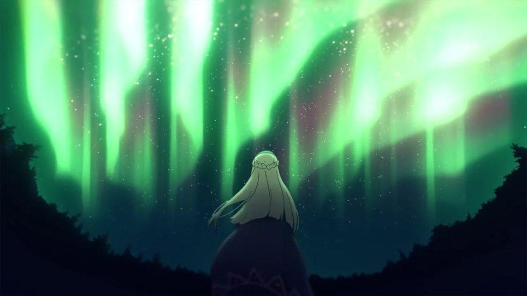 『せーの……』『ぴょーん!』…少女は大地に再び足を着けることなく、そのまま、暖かな風に浚われるように姿を消した。