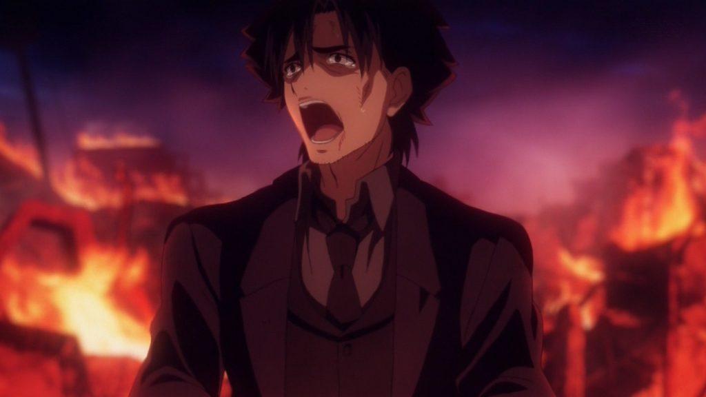 テレビアニメ『Fate/Zero』第25話「Fate/Zero」(最終回)は、鬱展開のバッドエンドに。壊れた聖杯からは泥があふれ出し、冬木市街を破壊して大火災を引き起こす。