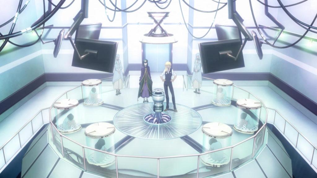 魔術師アトラム・ガリアスタの錬成工房では、6人の子供を生贄にして、マナの結晶の精製を行う。