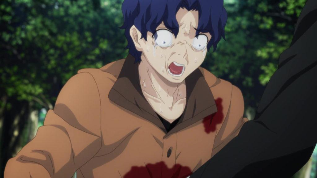 イリヤの心臓を植え込まれた間桐慎二の肉体が聖杯の寄り代になった(『Fate/stay night [Unlimited Blade Works]』第21話)。