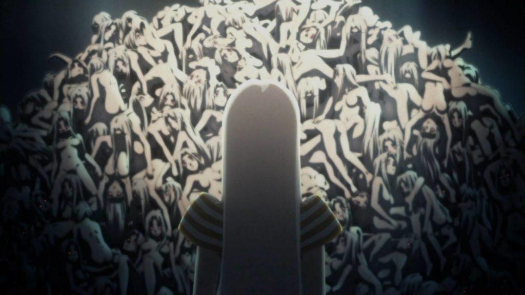 折り重なった沢山いるホムンクルス(アイリ)たちの(死体の)山の描写が衝撃的だった。