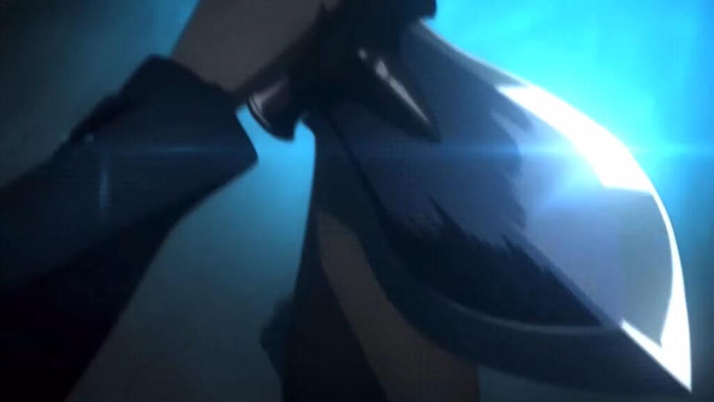 士郎はセイバーを殺す事を決意し、アゾット剣を振り下ろした…。