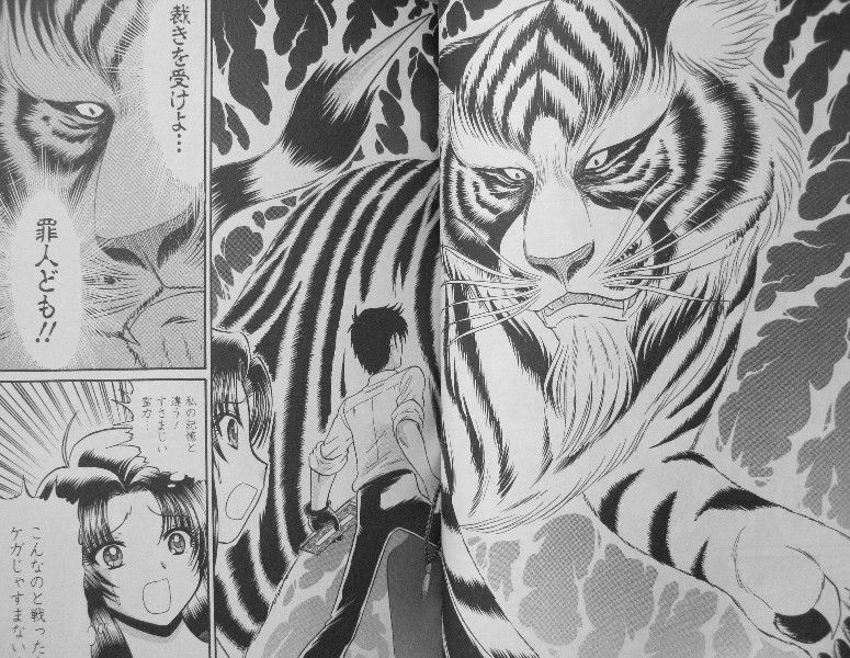 白虎に受けた傷には強い呪いがかかっており、3年後にその呪いが発動し、ぬ~べ~が廃人に。