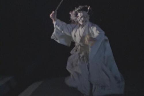冒頭の鬼女が登場する恐怖場面