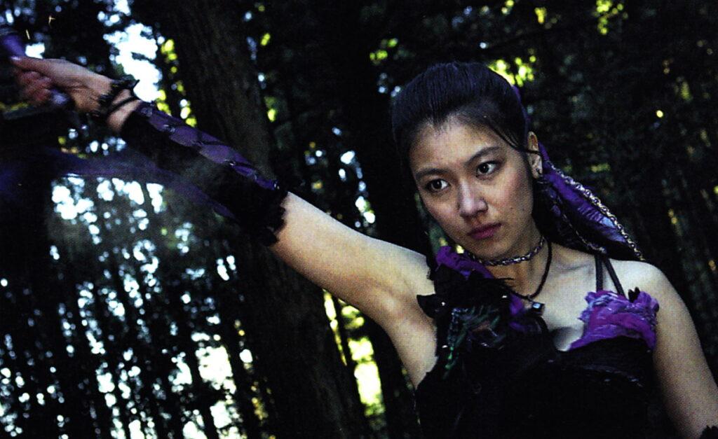 『牙狼外伝 桃幻の笛』の「阿伎」(あぎ)役:瀧内公美
