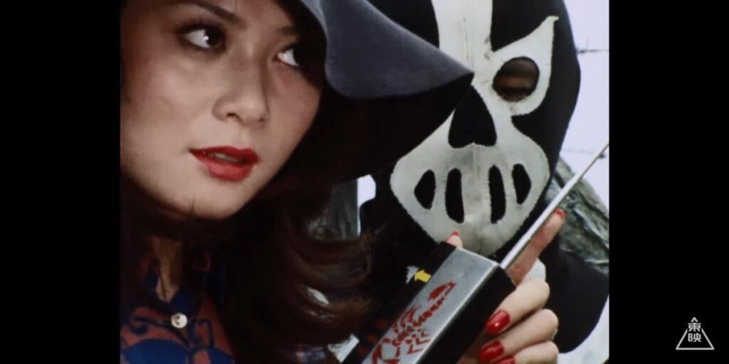 『仮面ライダーV3』の原子タイガーの人間態「魔女スミロドーン」役:山崎知子
