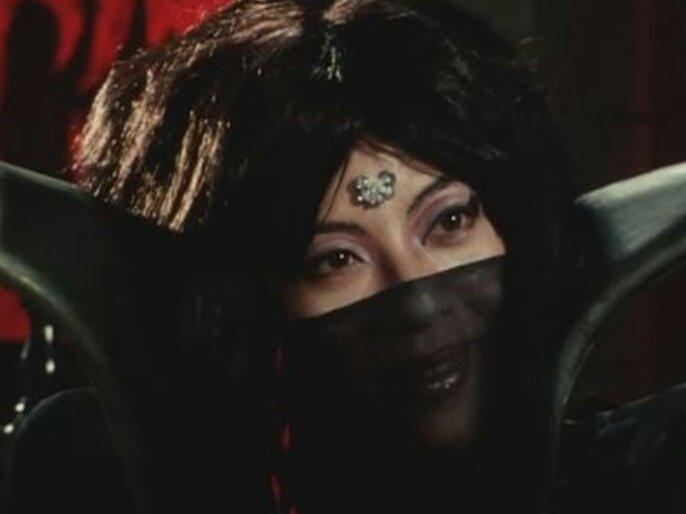 『仮面ライダースーパー1』の「魔女参謀(真の姿:マジョリンガ)」役:藤堂陽子