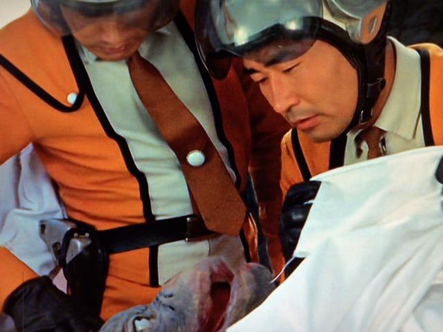 鬼の台丘陵の中の洞窟で7000年間眠り続けていたミイラ。岩本博士により東京まで運ばれた。