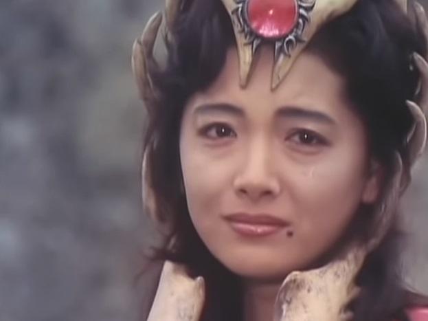 『光戦隊マスクマン』の「地帝王子イガム」役:浅見美那(イアル姫と二役)