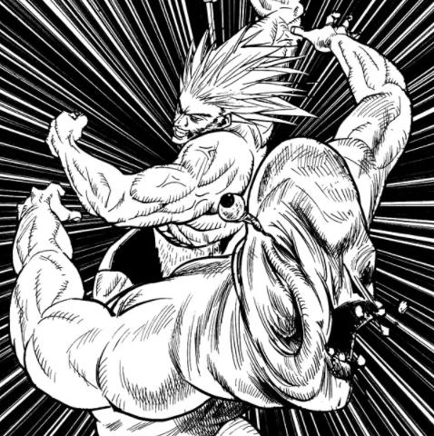 ウボォーキンのパンチを食らっても意識を失わず地中に引きずり込むも、ビッグインパクト(超破壊拳)で潜んでいた大地ごと跡形もなく吹き飛ばされる。殴られて目玉が飛び出るというトラウマシーン。