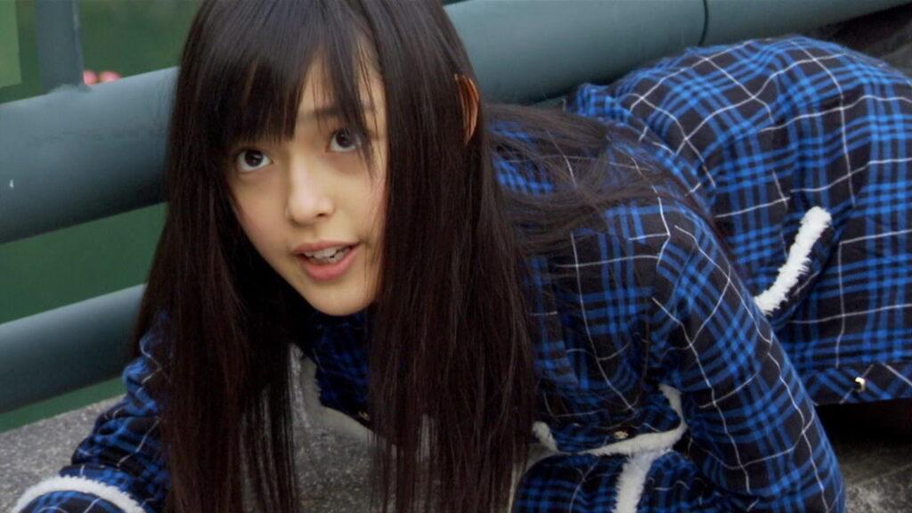 メズール人間体(演:未来穂香)は、仮面ライダーシリーズ史上最年少の女性幹部怪人役である。
