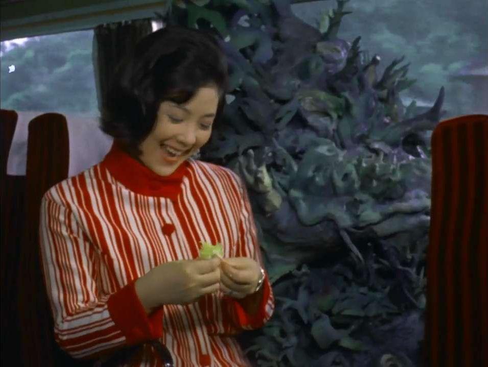 小田急ロマンスカー内で人間の姿を保てなくなり、ワイアール星人に変身してしまう。