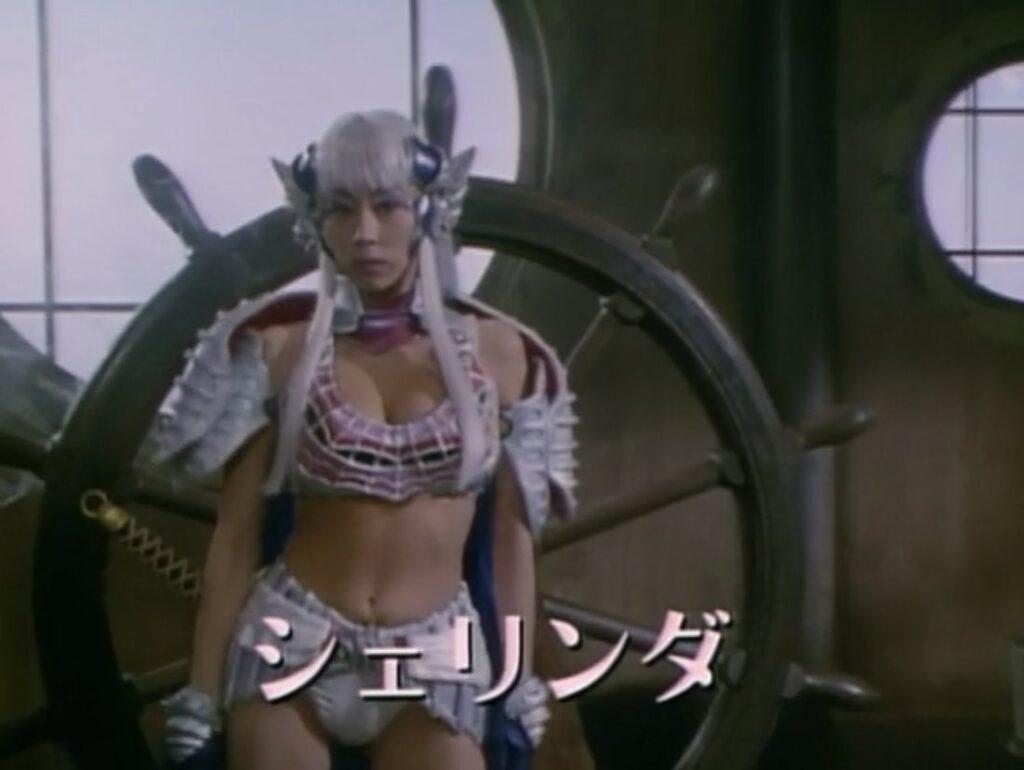『星獣戦隊ギンガマン』の「操舵士シェリンダ」役:水谷ケイ