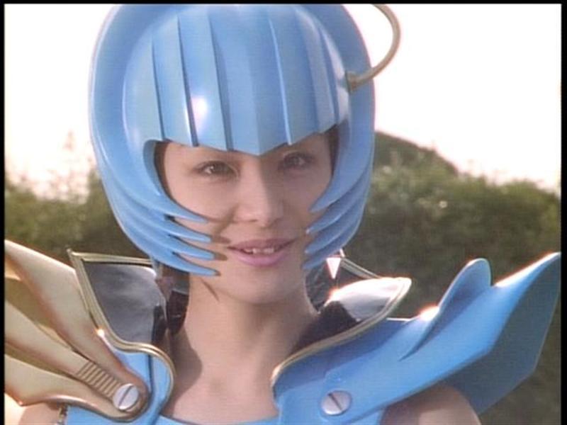 『電磁戦隊メガレンジャー』(1997年)の「シボレナ」役:城麻美(じょう あさみ)