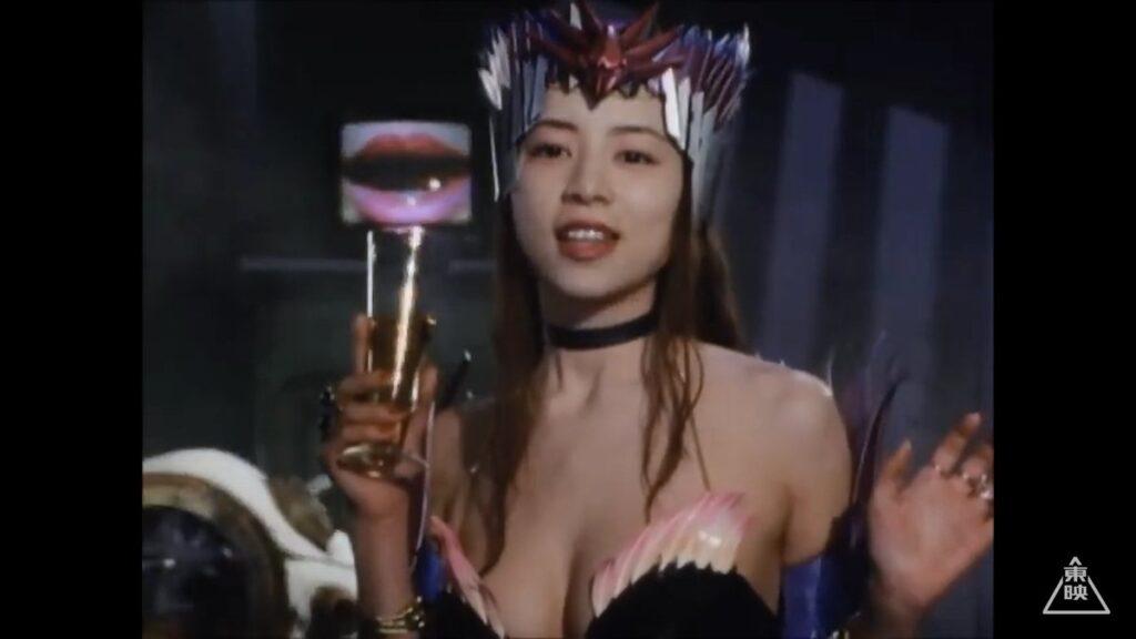 『激走戦隊カーレンジャー』(1996年)の「美女ゾンネット(バニティーミラー・ファンベルト)」役:七瀬理香(ななせ りか)