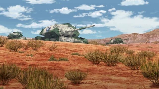 コアラの森学園が所有するセンチネルACⅠ巡航戦車