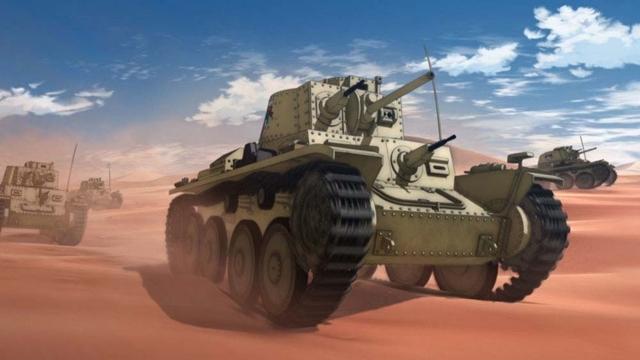 ヨーグルト学園が所有する38(t)戦車B/C型