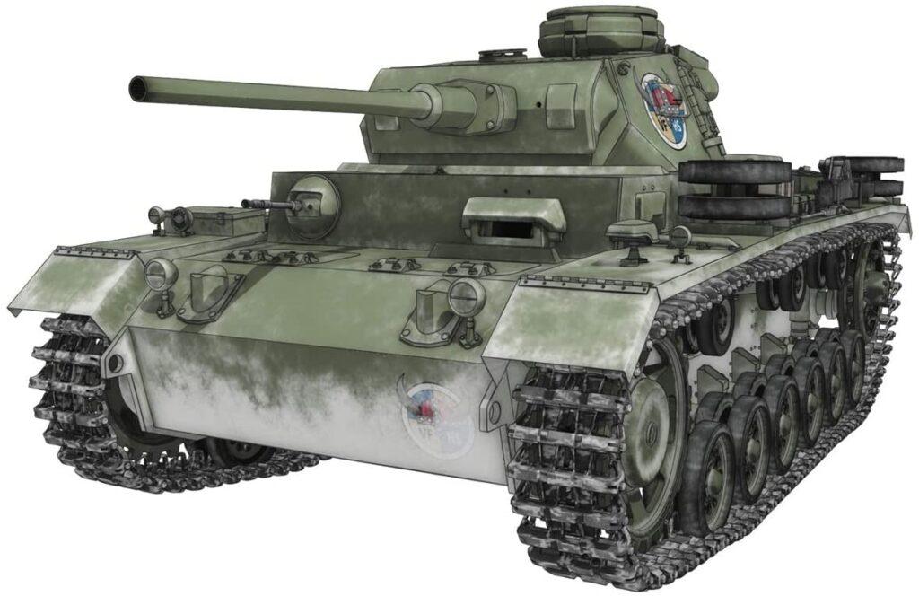 プラッツ ガールズ&パンツァー最終章 III号戦車J型 ヴァイキング水産高校 1/35スケール