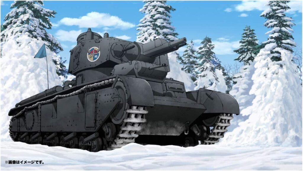 ヴァイキング水産高校所属のNbFz (ノイバウファールツォイク)は、戦車史上に残る特異な多砲塔戦車。