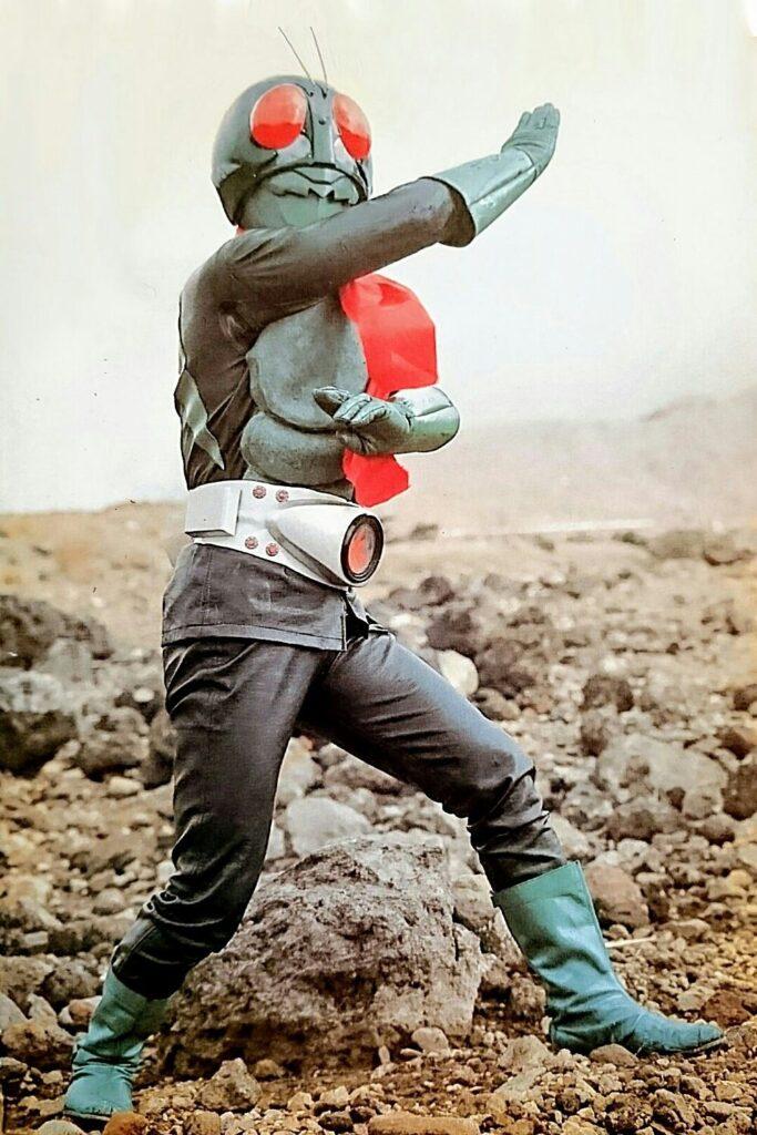 桜島1号は、特撮番組『仮面ライダー』の第40話から第41話までにおける仮面ライダー1号の姿のこと(俗称)。