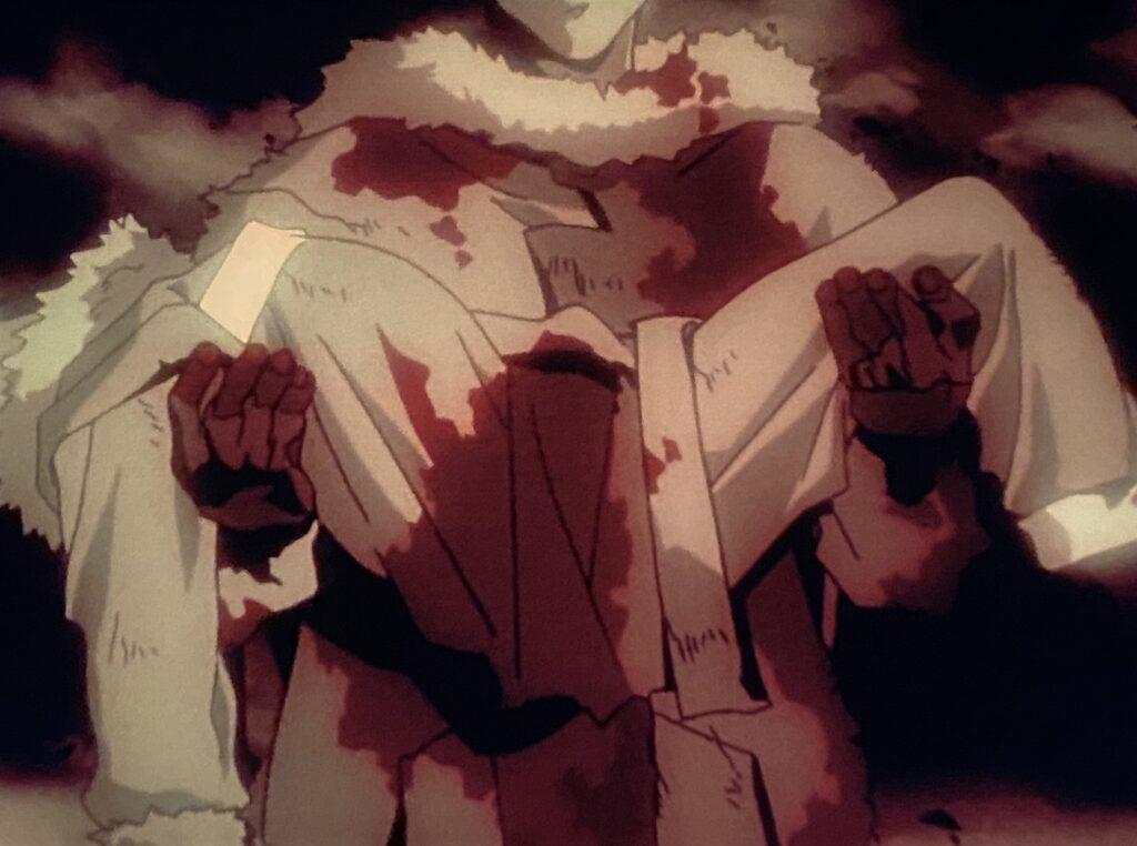 葛城ミサトは、父「ヒデアキ」の捨て身の救助によりただ一人奇跡的に生還する。
