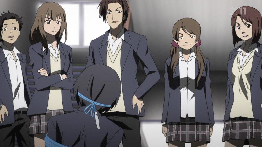 三上敏夫は、学校では日常的に長田亜須加と永山義則のグループから縄跳びの紐で拘束され、ひどい罵倒と暴力を浴びせられるという、凄惨ないじめに遭っている。