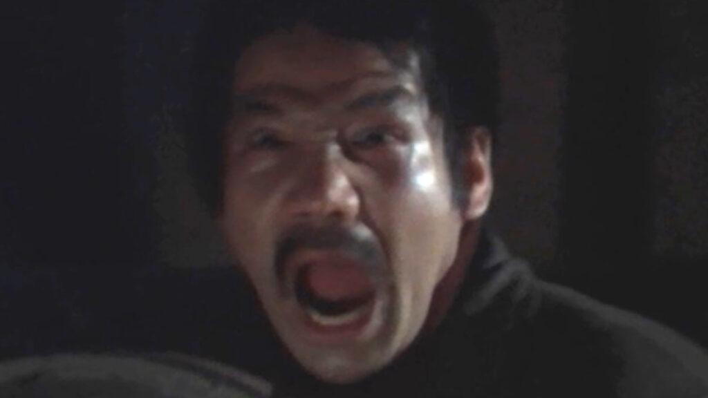 辰蔵は何気なく後ろを振り返ると…「ああああああ…」と絶叫し気絶した。