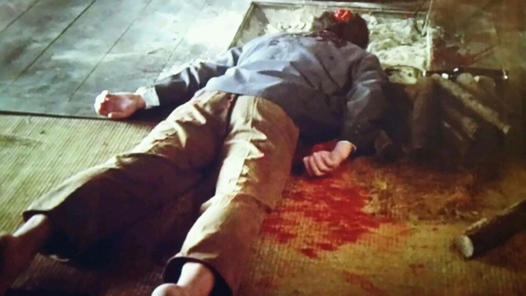 青池リカ(岸恵子)の旦那の青池 源治郎は、顔の判別も不能な状態で殺された