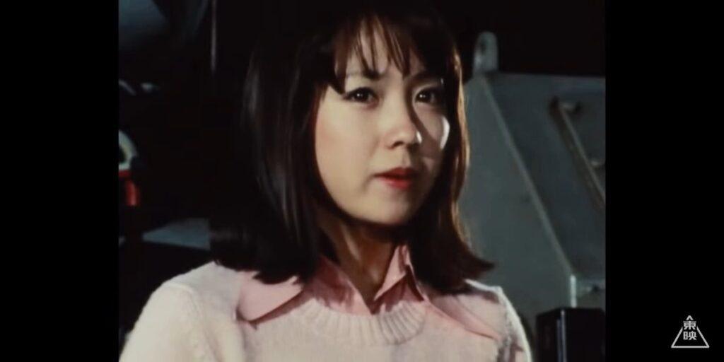『仮面ライダーアマゾン』の「岡村りつ子」役:松岡まり子