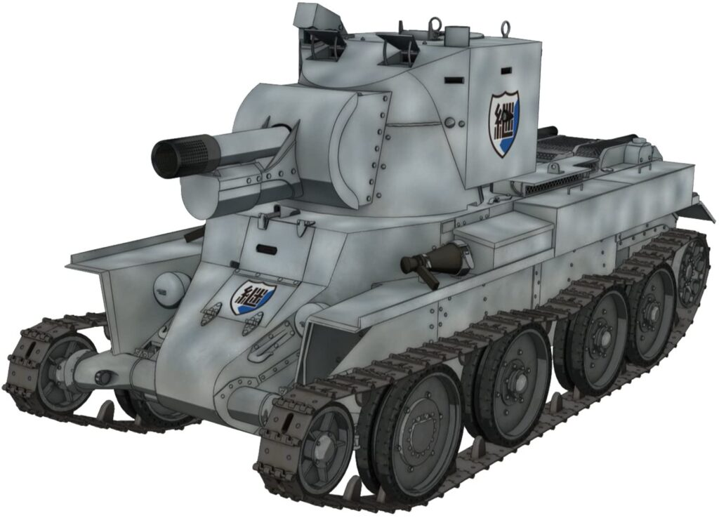 プラッツ ガールズ&パンツァー劇場版 BT-42 突撃砲 継続高校 1/72スケール