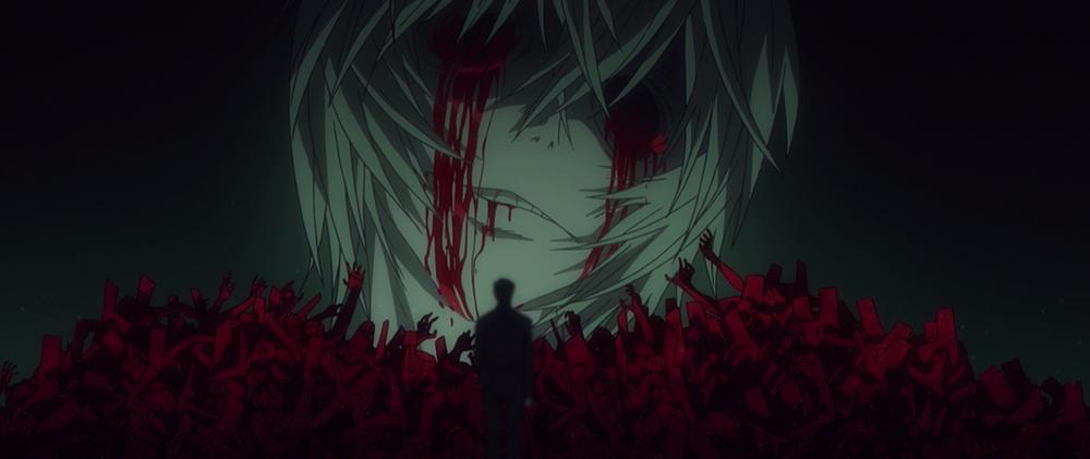 「リリス」の目から、流血が…。