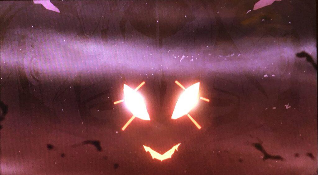 エヴァンゲリオン初号機…まさに悪魔か…悪魔のような形相に見える初号機