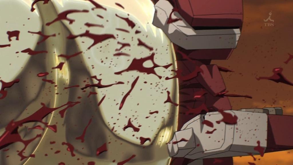7話「新次元戦闘」にてフェストゥムの猛攻により立上 芹(たてかみ せり)の乗機「マークツヴォルフ」は大破