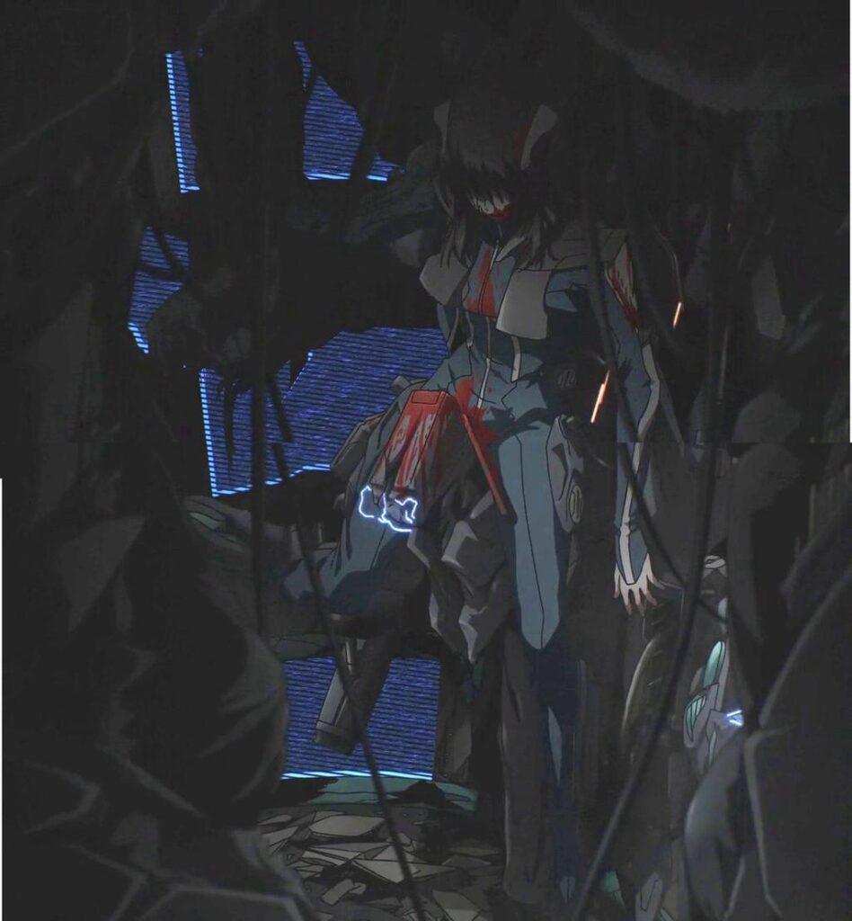 7話「新次元戦闘」にてフェストゥムの猛攻により乗機は大破、自身も瀕死の重傷(一時的に死亡?)を負う