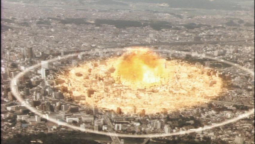 レギオンの植物(草体)の爆発でガメラを巻き添えにした仙台壊滅