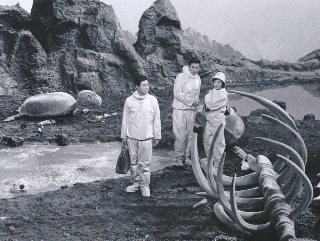 『モスラ対ゴジラ』に登場する「インファント島の怪骨」