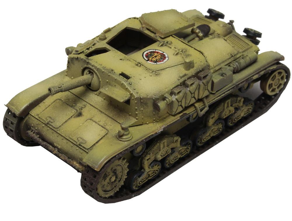 プラッツ1/72 ガールズ&パンツァー最終章 M41型セモヴェンテ(自走砲)