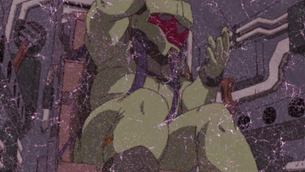 『機動戦士ガンダムSEED』第33話 PHASE-35「舞い降りる剣」 / 戦略兵器「サイクロプス」の犠牲となった人間が破裂していくスプラッタシーンが土曜の夕方に放送された。