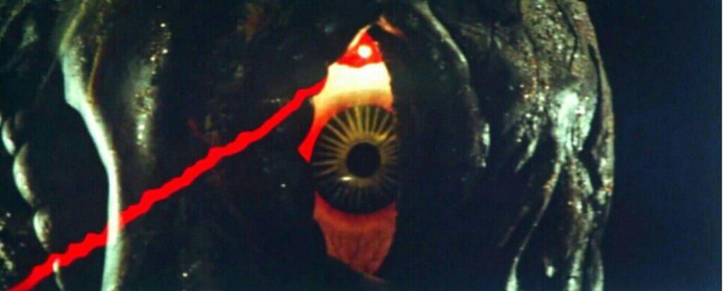 ヘドラのヘドリューム光線にはゴジラも苦戦する。