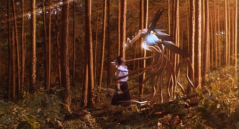 イリスは洞窟内の食料に飽き足らず、森の動物をも捕食するまでに成長し、育ての親である綾奈との同化を試みるようになり…