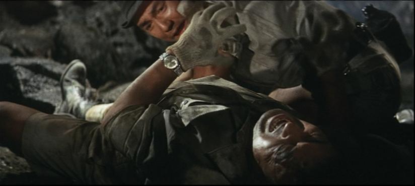 毒サソリに刺され苦しむ川尻「目が見えへん…目が見えへん」